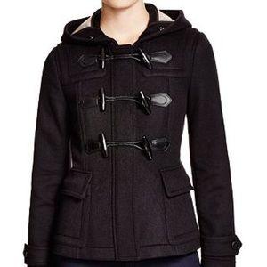 EUC Burberry Brit Blackwell Wool Duffle Coat